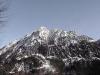 winterliches Bergmassiv