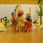 kl. Western m. Playmobilfiguren