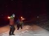 Nacht im Schnee