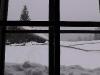Schnne vor dem Fenster
