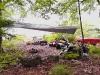 Lagerplatz der Kanugruppe