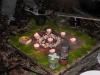 Stimmungsbild mit Kerzen und Naturmaterialien