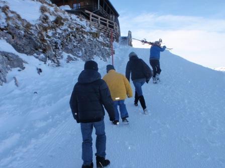 Spaziergang - Schneeweg